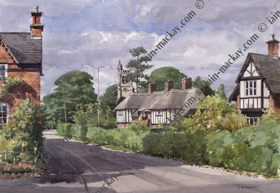 Osmaston Village - Iain Mckay